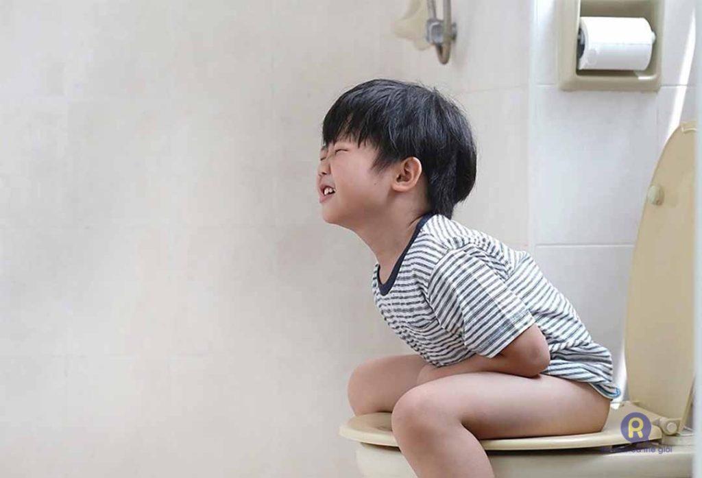 Trẻ bị tiêu chảy và nôn trớ