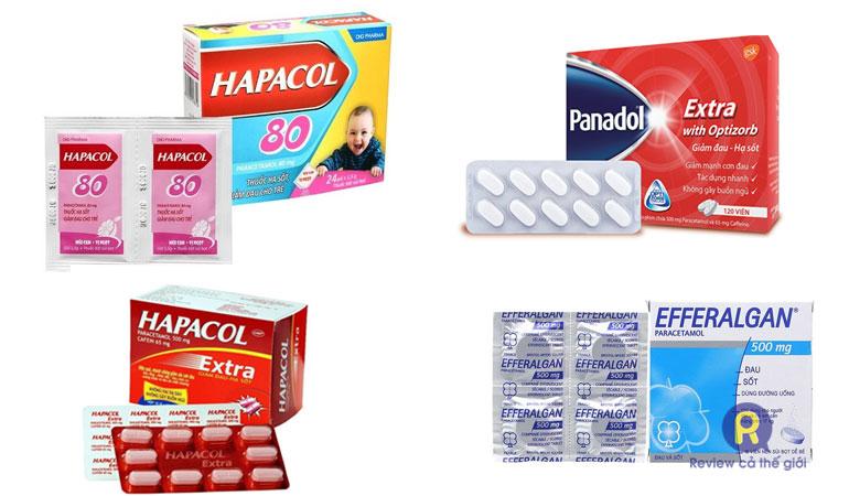 Thuốc hạ sốt thông dụng trên thị trường