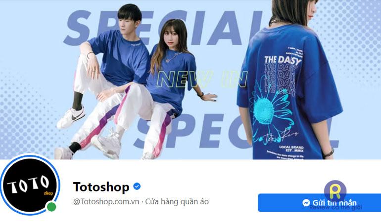 Toto- shop quần áo online nổi tiếng