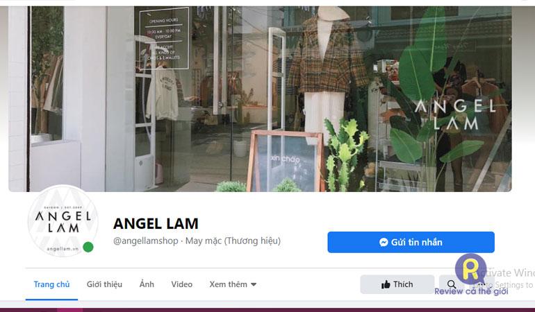 Shop quần áo Angel Lam