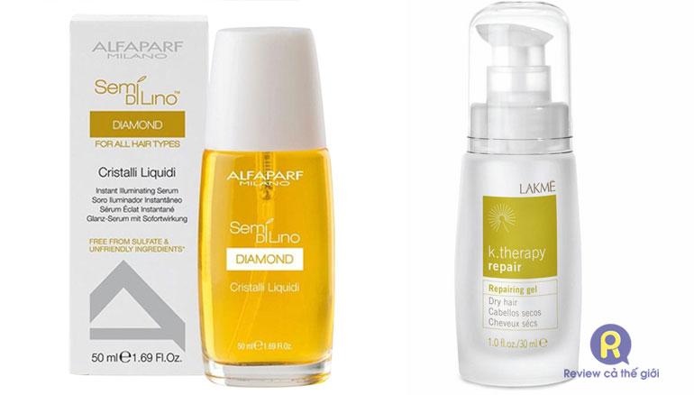 Tinh dầu dưỡng tóc Alfaparf hoặc Lakme được nhiều salon khuyên dùng