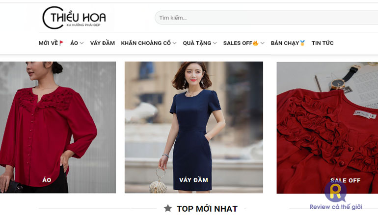 Shop quần áo Thiều Hoa