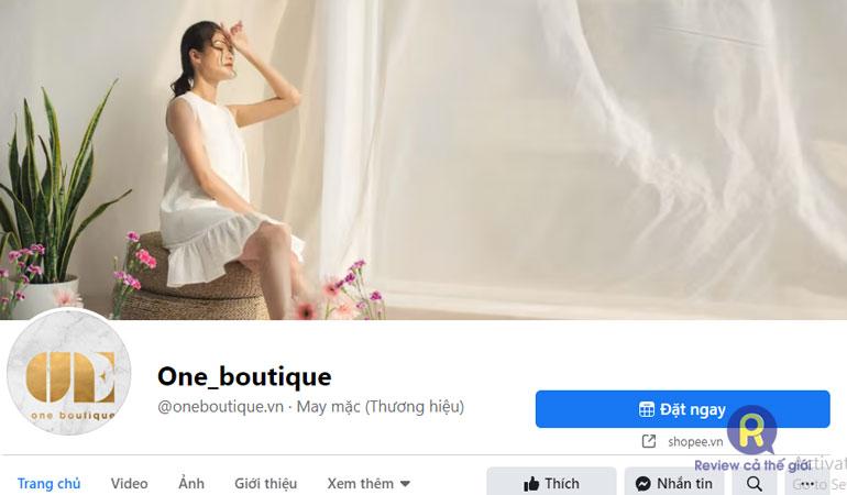 Shop quần áo online One Boutique