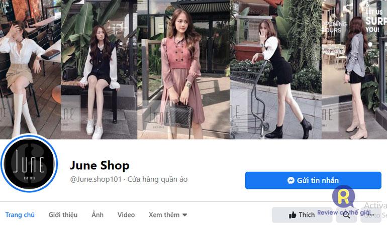 June shop- Bán quần áo online nổi tiếng