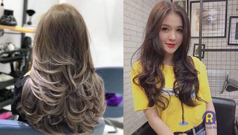 Chăm sóc tóc xoăn lơi tại Salon