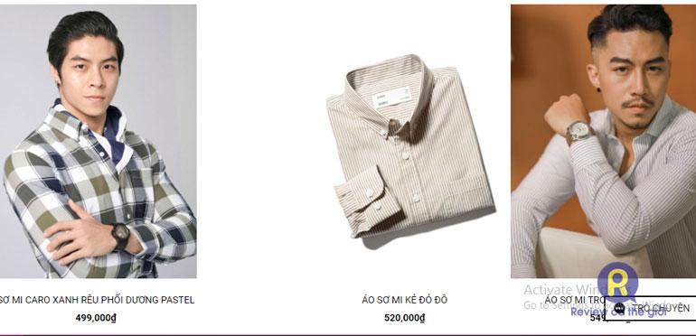 Shop quần áo nam Mr Simple Style