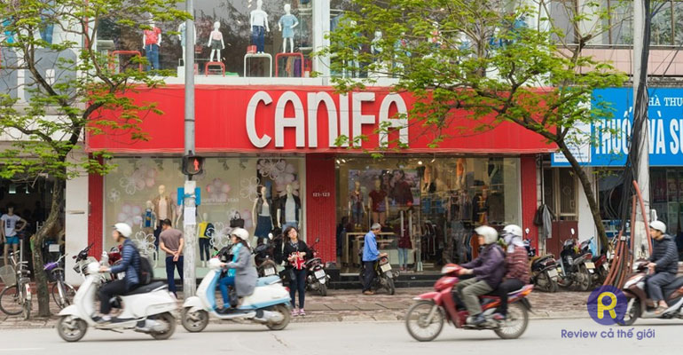 Shop quần áo nam Canifa Cầu Giấy