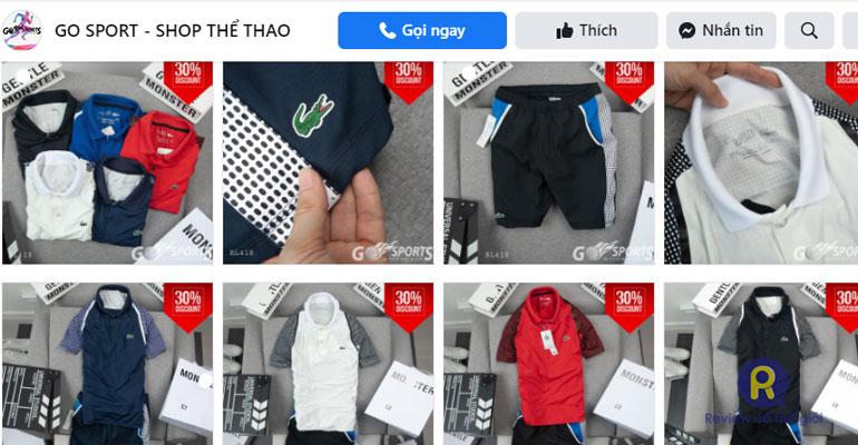 Shop quần áo nam Go Sport Cầu Giấy