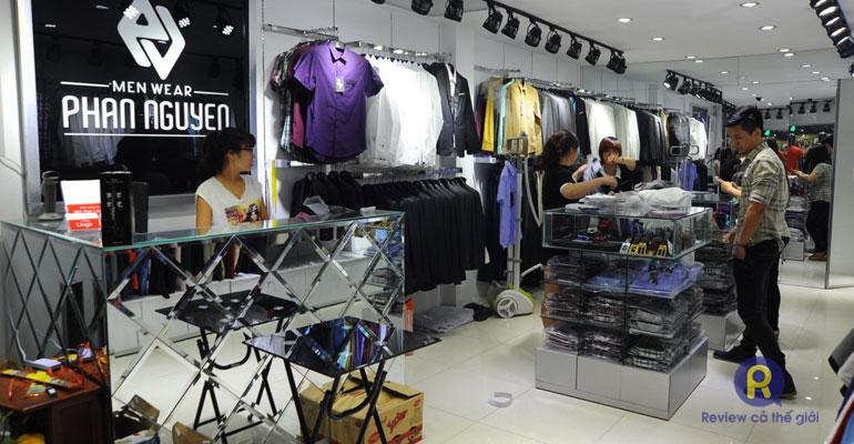 Shop quần áo nam Phan Nguyen Cầu Giấy