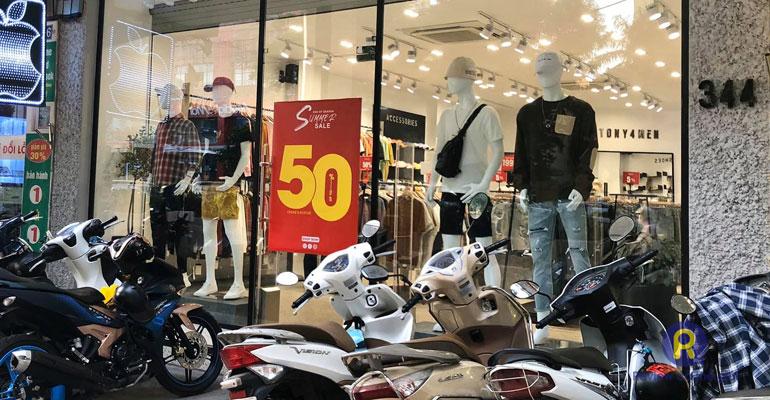 Shop quần áo nam Tony4men Cầu Giấy