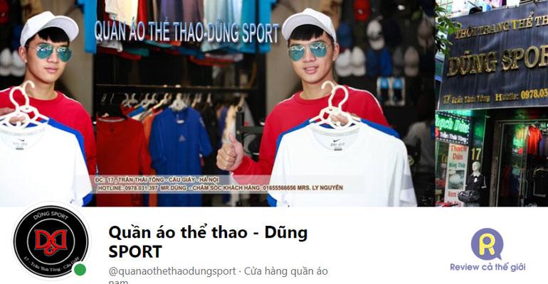 Shop quần áo nam Dũng Sport Cầu Giấy