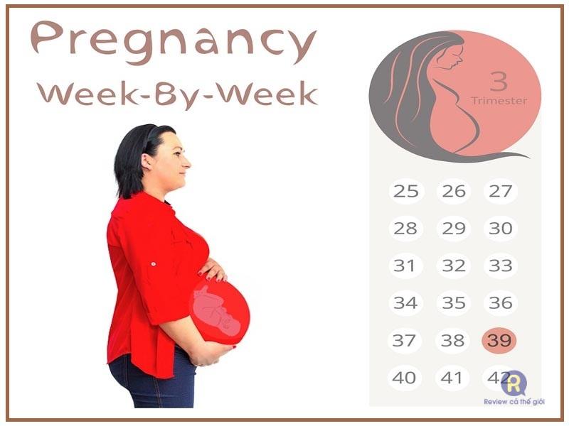 Mẹ bầu tuần thứ 39