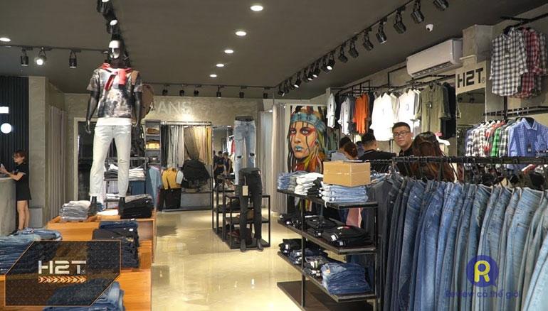 Cửa hàng quần áo nam H2T