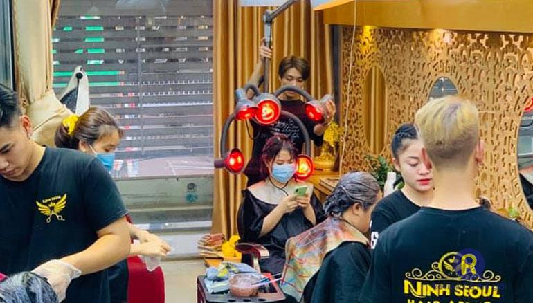 Tham khảo salon tóc uy tín