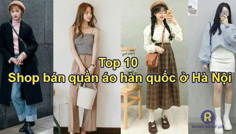 Shop bán quần áo hàn quốc ở Hà Nội