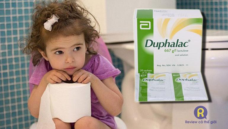 Thuốc Duphalac cho trẻ em