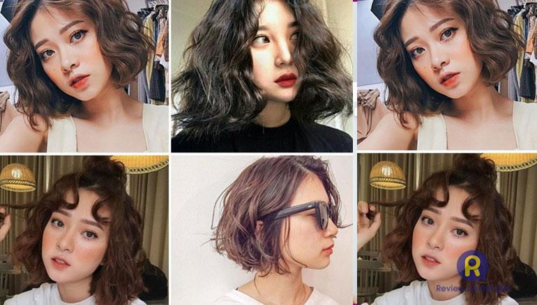 Cách chăm sóc tóc xoăn sóng ngắn