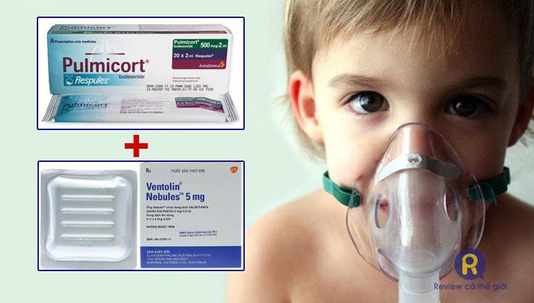 Khí dung hỗ trợ điều trị viêm phế quản cho trẻ nhỏ