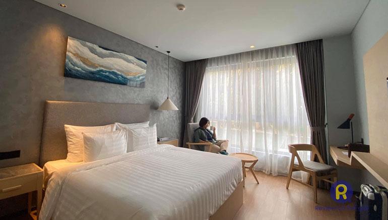 Phòng ngủ khách sạn The Secret Con Dao
