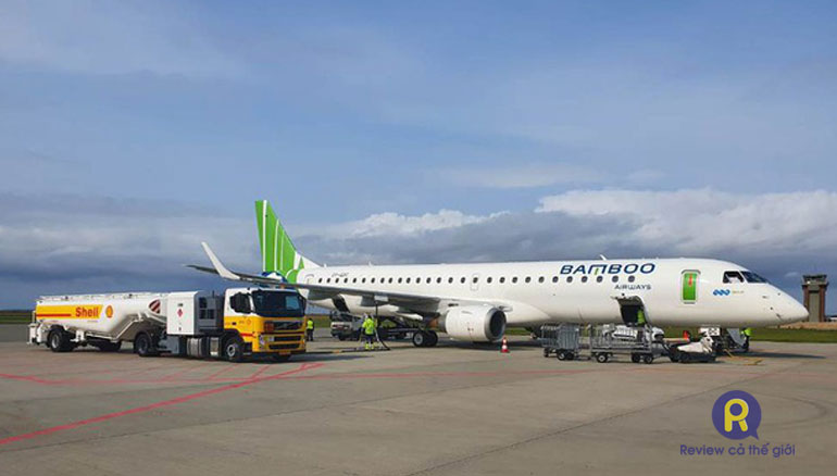 Máy bay Bamboo Airways