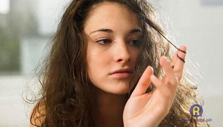 Uốc tóc bị hỏng