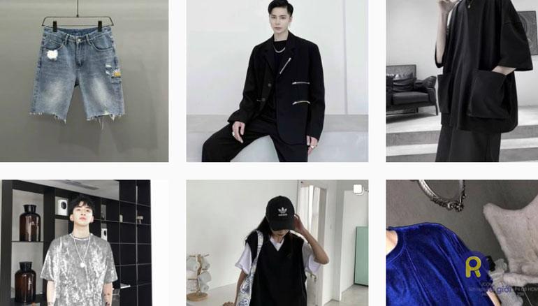 Layunisex bán đồ Unisex trên Instagram