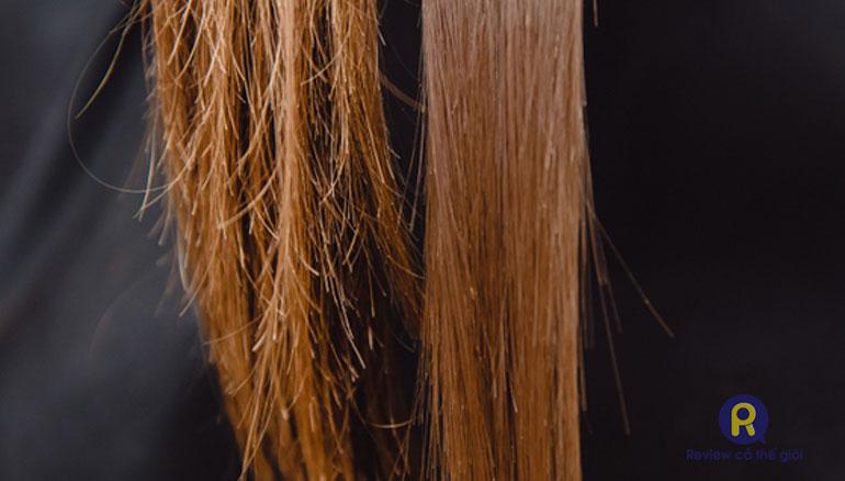 So sánh: Duỗi tóc hỏng với Duỗi tóc thành công