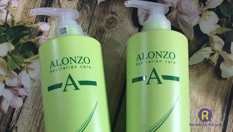 Dầu gội cặp Alonzo dành cho tóc hư tổn
