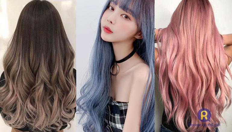 Các màu tóc hot trend hiện nay