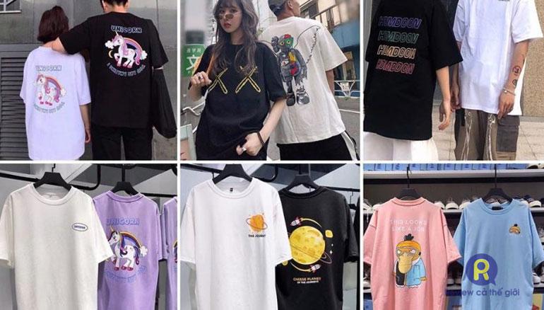 Các shop bán áo thun đẹp trên Shopee