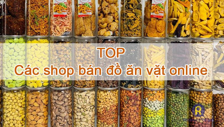 Các shop bán đồ ăn vặt online