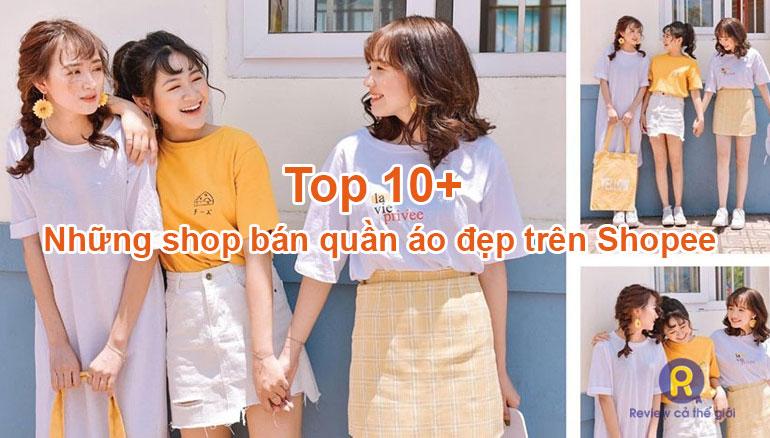 Những shop bán quần áo đẹp trên Shopee