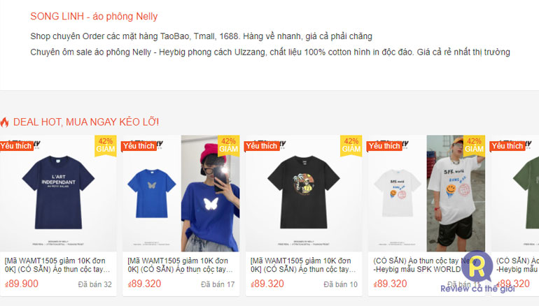 Song Linh shop