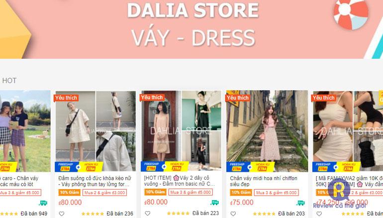 Shop Dalia