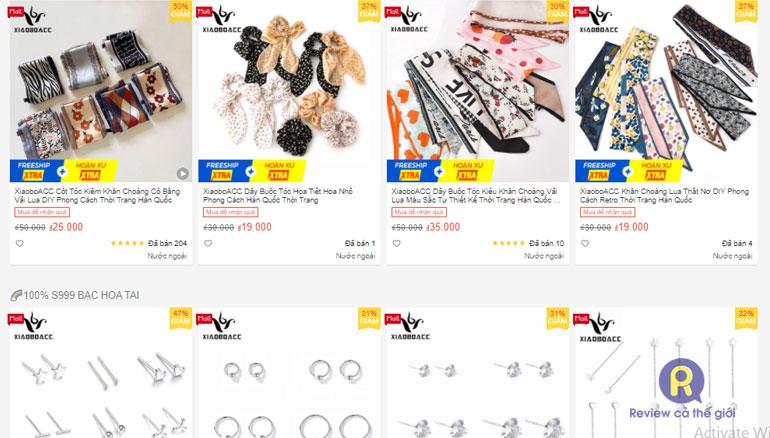 XiaoboACC - Shop bán phụ kiện trên Shopee