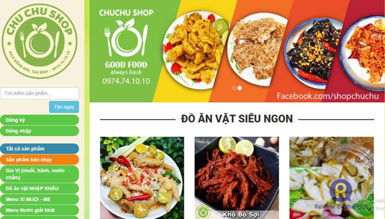 Chu Chu shop bán đồ ăn vặt online