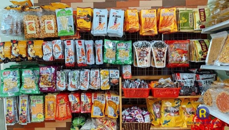 Shop bán đồ ăn vặt Trung Quốc